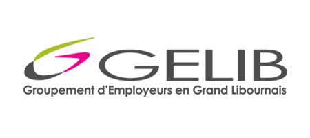 GELIB – Groupement d'Employeurs en Grand Libournais Logo